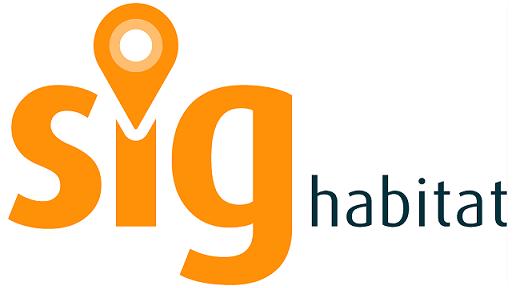 logotipo sig habitat sistema de informacao gestao do cluster habitat sustentavel