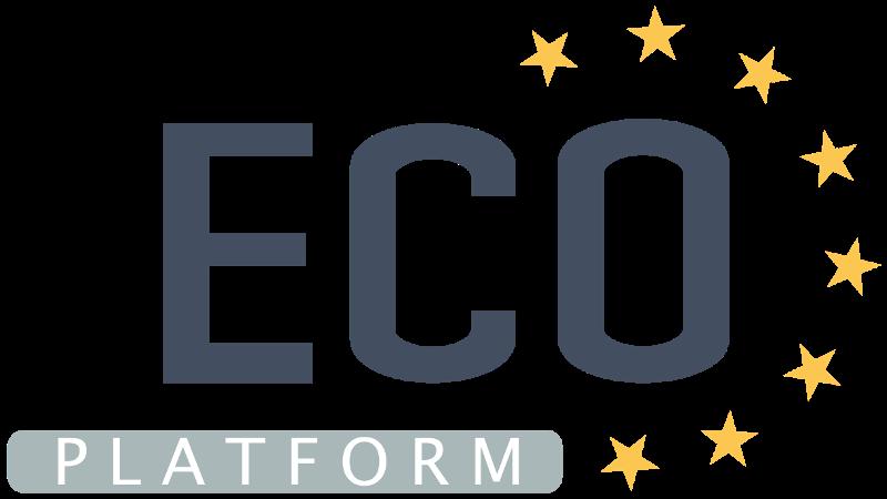 ecoplatform logo cluster habitat sustentavel