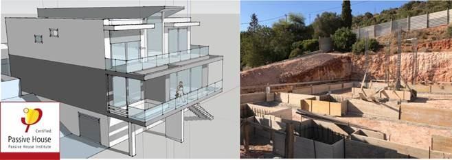 algarve homegrid certificacao de uma moradia passiv house do cluster habitat sustentavel